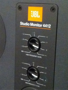 JBL 4412 Controls